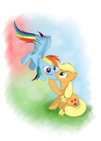 Apple Dash by AmethystHorn