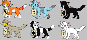 Adoptable Cats by skyclan199