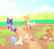 Prompt - Gardening in the sun by Lemongu