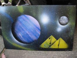 Celestial Spray Painting14 by Christine-Eige