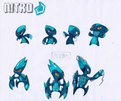 Nitro Minomonsters Concept by Dwheels