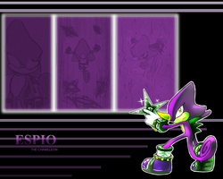 Espio wallapaper by Faezza