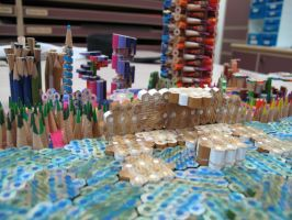 Futuristic City close up 2 by Brunch-with-HotChoco