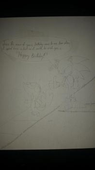Gift-WIP] Happy Birthday, LiamSnivy, with Sonic th by KnuxSun