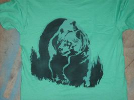 Bear T-shirt by RickyGunther