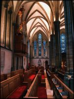 inside Temple Church by liverecs