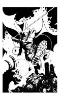 Dark Knight Inkz by SasaBralic