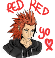 Red Red AXEL by redtora