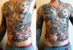 Freestyle Chest Tattoo 2 by UptownPete