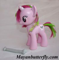 Skully G4 Custom FiM My Little Pony by mayanbutterfly