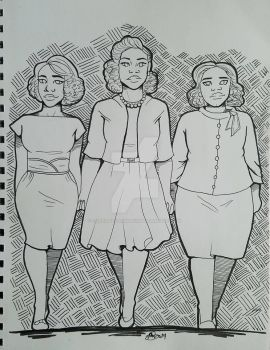 Hidden Figures by FeferiAndTheDiamonds