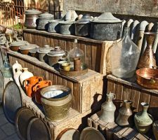 Display of Antiques by alimuse