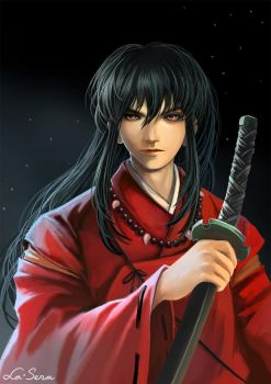 Inuyasha: Night of New Moon by la-sera