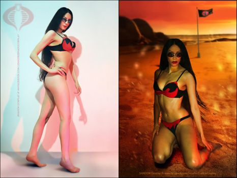 The Baroness from GI Joe - Swimsuit outfit by Daelyth