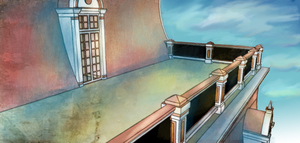 Victorian Balcony sketchup practice by skystears
