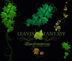 Leaves Fantasy by Lileya
