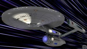 Warp Factor Five III by GlenRoberson