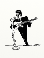 Orbison 60s Clip Art by TheBigDaveC