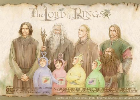 The Fellowship of the Ring by somachiou