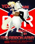 Red Ribbon Wants You by contralto