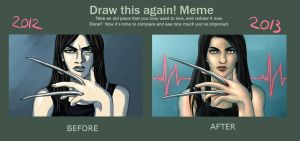 Draw This Again - X-23 by Asenath23