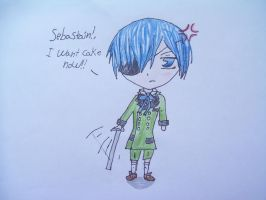 Chibi Ciel by Cookieanime