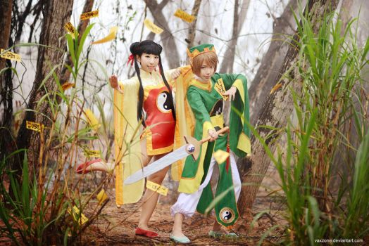 Syaoran n Meilin: Time to capture cards by vaxzone