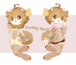 Set Price :: Teddy Bear Bumbie [ Closed ] by Devi-Adopts
