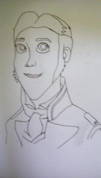Prince Hans inked by BlueMoonScorpio