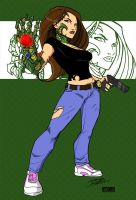 Witchblade by KidNotorious by VPizarro626