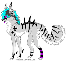 scene adoptable 1 auction by XNeonFeather