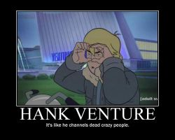 Hank Venture by Edplosion