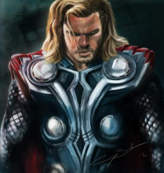 THOR by GarryBrookes