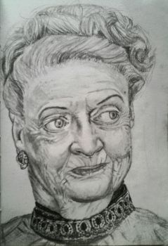 Maggie Smith by DaftPencil