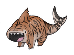 Tiger Land Shark by AllRocksGoToHeaven