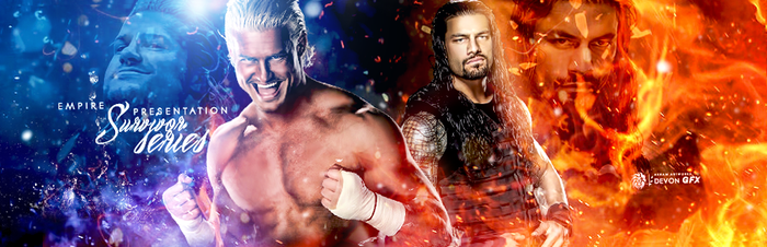 Dolph Vs Roman by workoutf