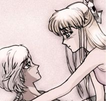 Minako and Yaten by unconventionalsenshi
