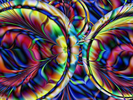 A Happy Abstract by Thelma1