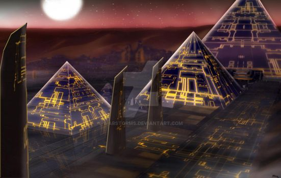 Future Egypt (Temple city of Ra) by Warstorms