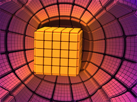 Sunset Cube by Daeurth