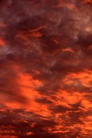 Fire Clouds 04 - Stock by Thy-Darkest-Hour