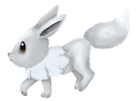 Shiny Eevee by Cinnamon-Quails