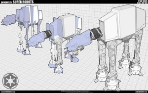At-At Wip 001 by cosedimarco