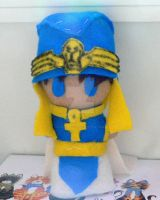 Priest Seto Plushie by shadowmancer32