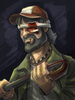 Kenny - The Walking Dead by MysticSabreonic