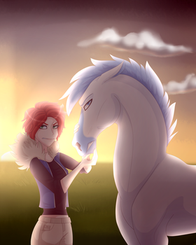touch him again and I will end your life by kayaqi