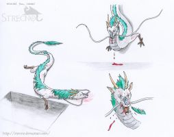 wounded Haku by Strecno