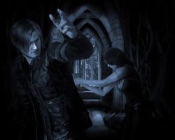 RE6 - leon and helena by cyber-rayne