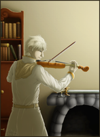 The Violinist by Waittiz