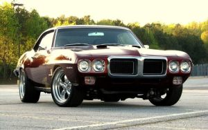 1969 Pontiac Firebird by ThexRealxBanks